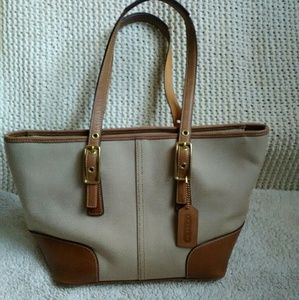 Coach shoulder bag 9558